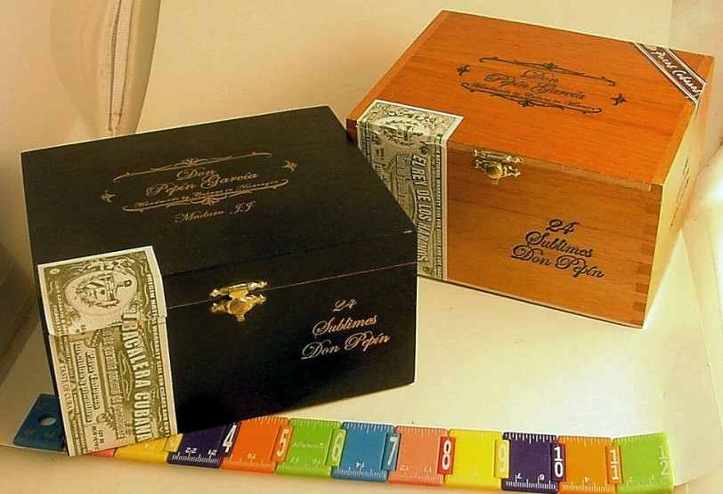 Decorative & Functional Cigar Boxes