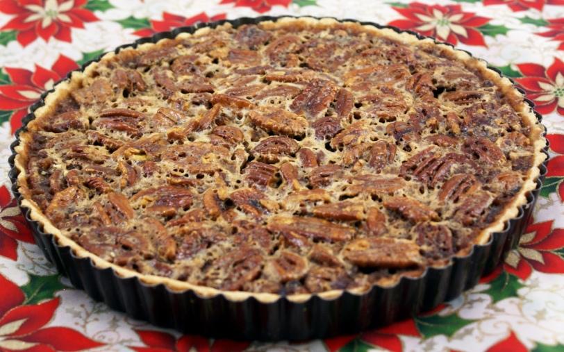"My famous Pecan Pie torte-aka ""pecan pie candy bar"""