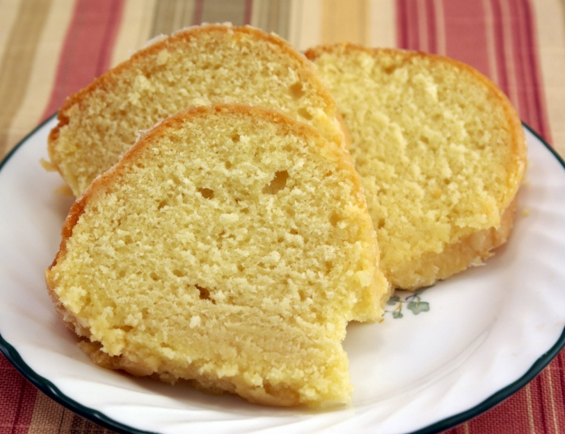 Glazed Lemon Bundt Cake from scratch
