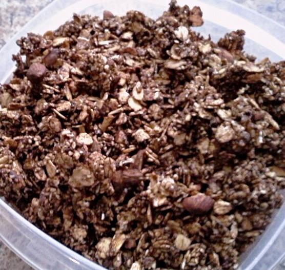 ... my headaches with Dark Chocolate Almond Granola | Choosing Simplicity