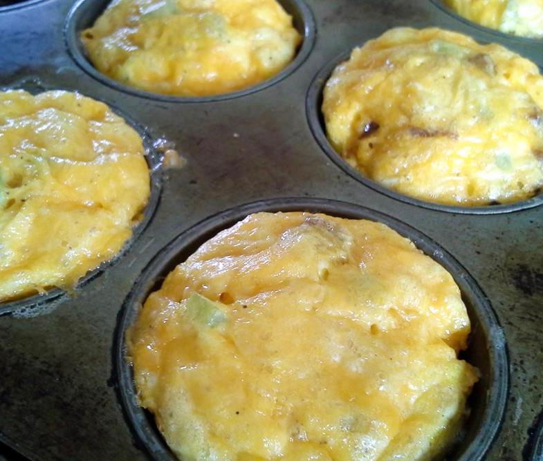 basic savory egg muffin recipe