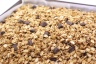 peanut butter and chocolate chip granola