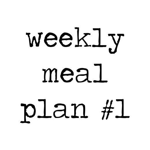 weeklymealplan